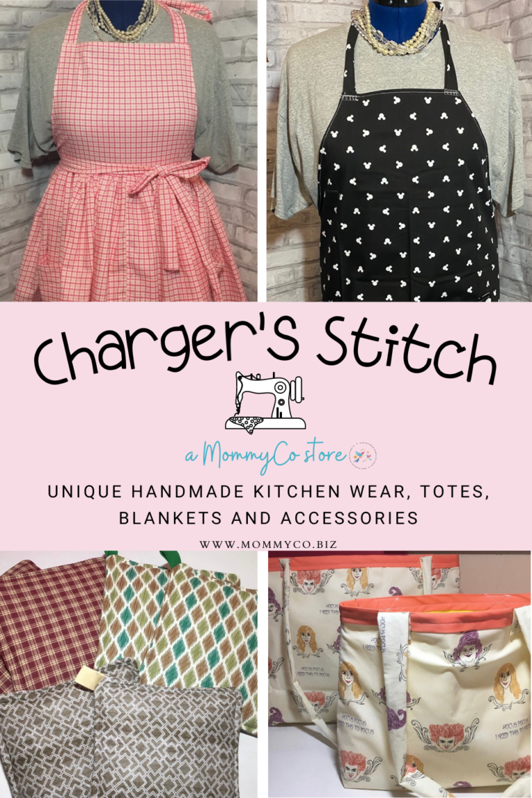 Charger's Stitch: Unique, Handmade Items